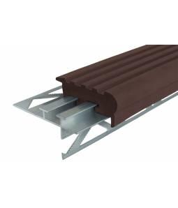 Уверенный Шаг 50 мм тем-коричневый 2.4м