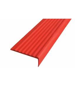 Полоса Не Падай 55 мм из термоэластопласта красный 1м