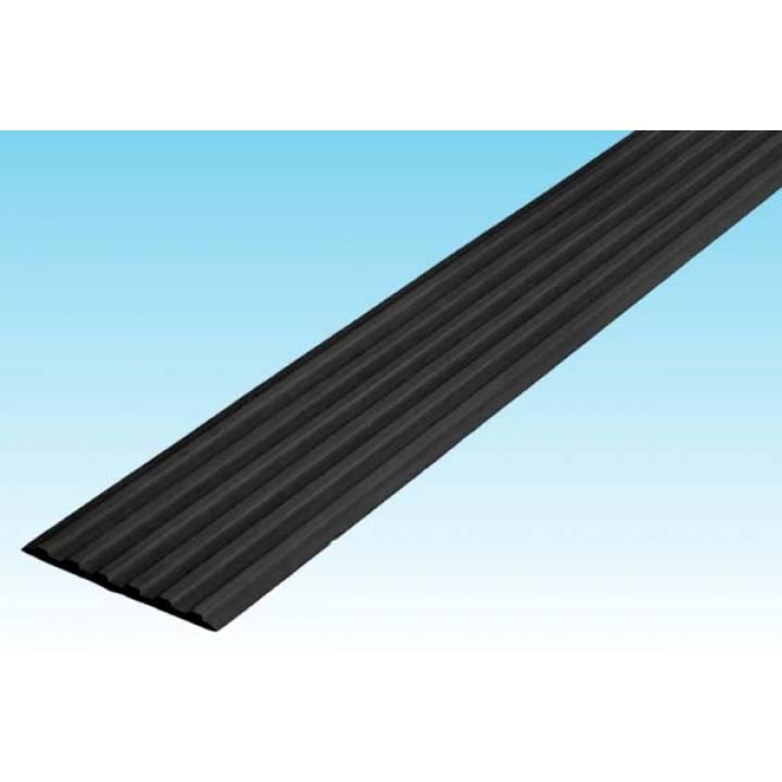 Полоса ЗПОУ 50 мм из синтетической резины черная 1м