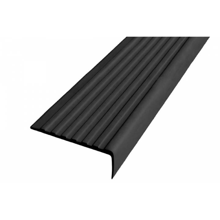 Полоса Не Падай 55 мм из термоэластопласта черный 1м