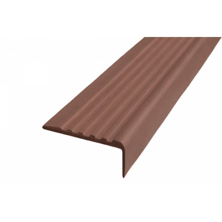 Полоса Не Падай 44 мм из термоэластопласта коричневый 12,5м