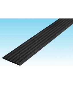 Полоса ЗПОУ 50 мм из синтетической резины черная 2,4м