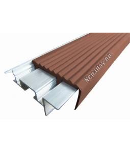 Алюминиевый угол SafeStep коричневый 1.2м