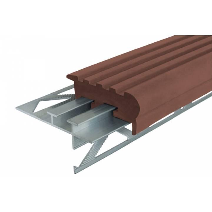 Уверенный Шаг 50 мм коричневый 2.4м