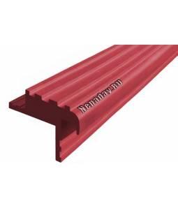 Резиновый профиль Безопаснй Шаг БШ-40 красный 10 м