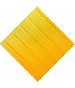 Тактильная плитка ПВХ полоса полиуретан без клея