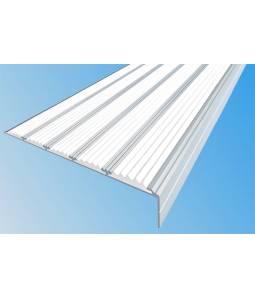 Алюминиевый угол c 5 вставками 160 мм белый 3м