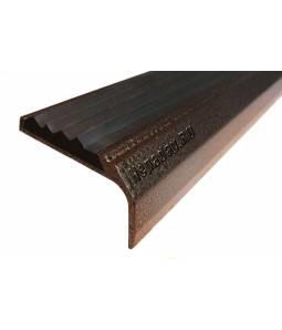 Окрашенный угол с 1 вставкой 42 мм медь 1м