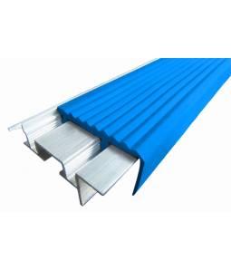 Алюминиевый угол SafeStep синий 2.4м