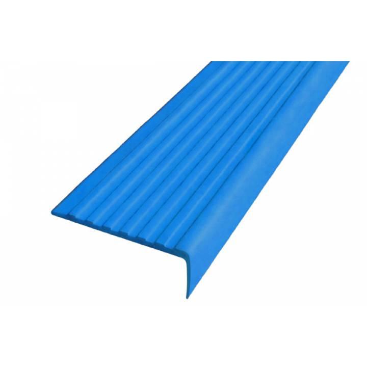 Полоса Не Падай 55 мм из термоэластопласта синий 1м