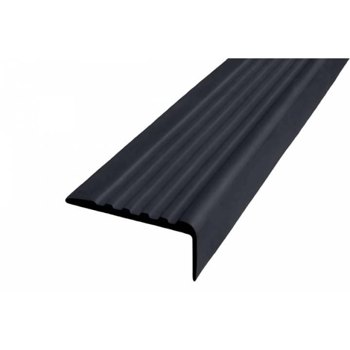 Угол ЗПОУ 44 мм из синтетической резины черная 2,4м