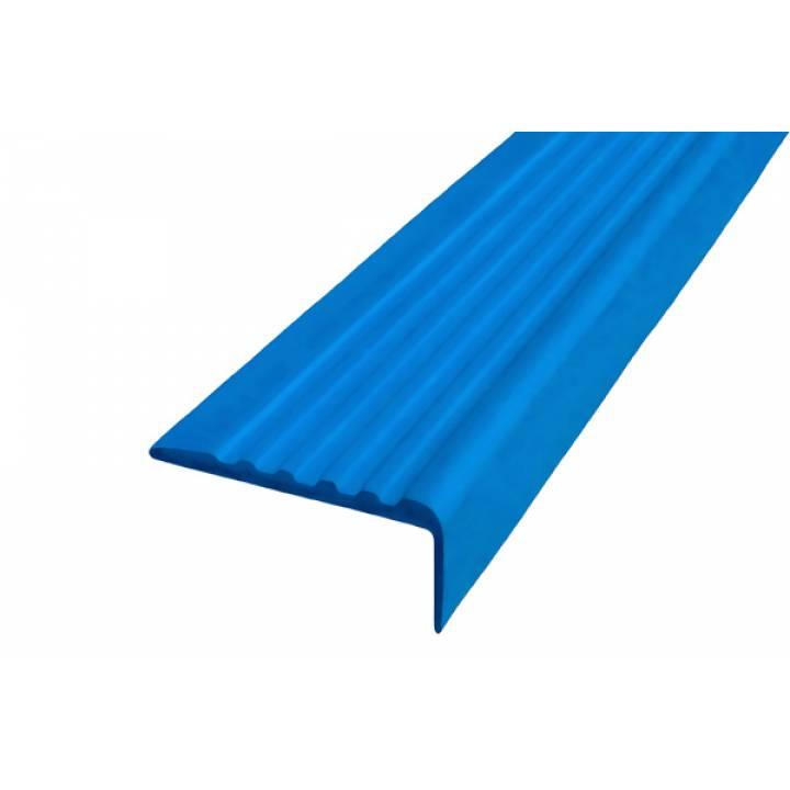 Полоса Не Падай 44 мм из термоэластопласта синий 1м
